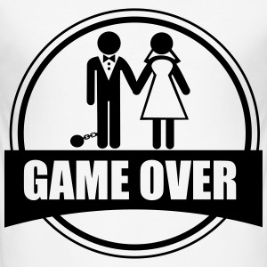 Game Over - couples - Men's Slim Fit T-Shirt