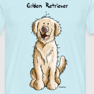 Golden Retriever  Tee shirts - T-shirt Homme