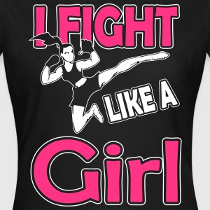 fight like a girl T-shirts - Vrouwen T-shirt