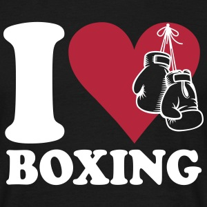 I love boxing T-Shirts - Men's T-Shirt