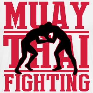 muay thai fighting T-shirts - Mannen Premium T-shirt