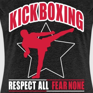 kickboxing - fear none T-shirts - Vrouwen Premium T-shirt