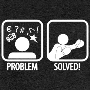 problem solved boxing T-Shirts - Frauen Premium T-Shirt