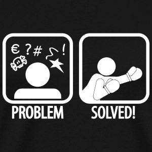 problem solved boxing T-Shirts - Men's Premium T-Shirt