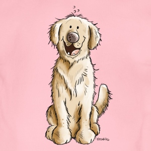 Golden Golden Retriever Babybody - Økologisk kortermet baby-body