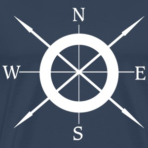 North, west, east, south - Männer Premium T-Shirt