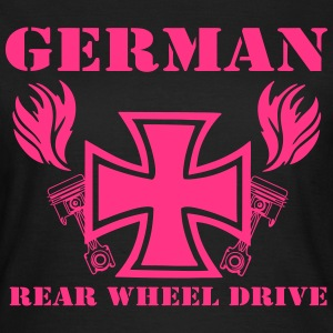 Rear wheel T-Shirts - Frauen T-Shirt