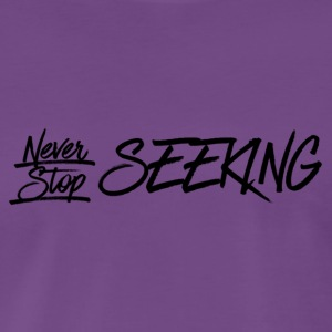 III Seekers- NSS - Midnight purple - Men's Premium T-Shirt