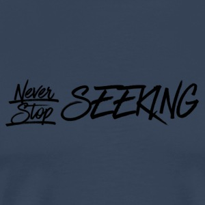 III Seekers- NSS - Midnight Blue - Men's Premium T-Shirt