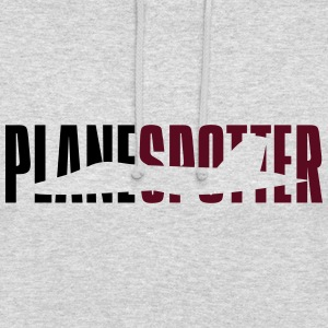 Plane spotter  Sweat-shirts - Sweat-shirt à capuche unisexe