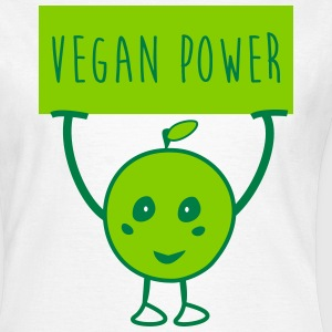 Vegan power veggie  - T-skjorte for kvinner