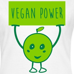Vegan power veggie  - T-shirt dam