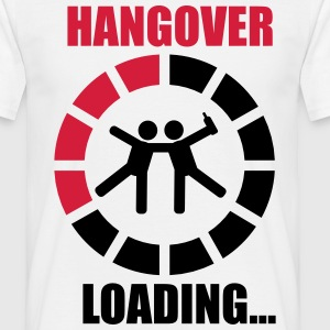 Hangover loading best friends - T-shirt herr