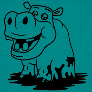 mud burrow tümpel bathe slush bottomless swamp wat T-Shirts - Men's T-Shirt