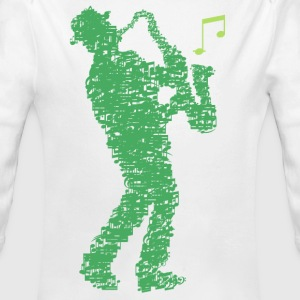 saxophone_player_made_of_notes_09201605 Baby Bodys - Baby Bio-Langarm-Body