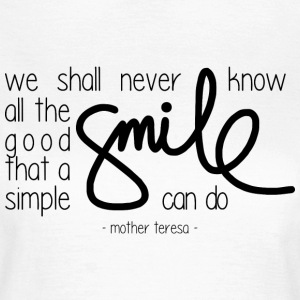 A simple smile Tee shirts - T-shirt Femme