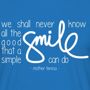 A simple smile (dark) T-Shirts - Men's T-Shirt