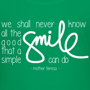 A simple smile (dark) T-Shirts - Kinder Premium T-Shirt