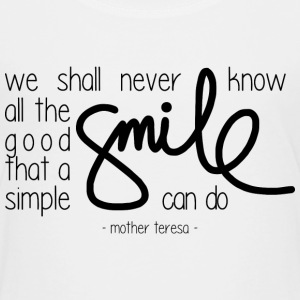 A simple smile T-Shirts - Kinder Premium T-Shirt