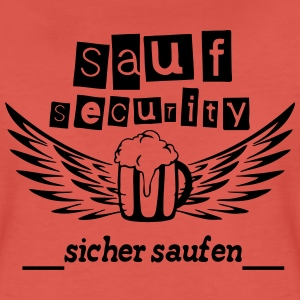 Sauf Security T-Shirts - Frauen Premium T-Shirt