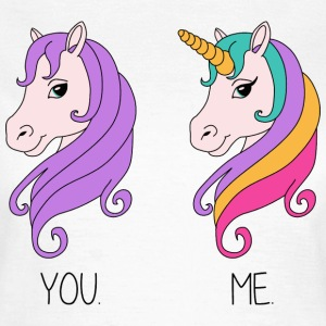 YOU. ME. - Horse - Unicorn T-Shirts - Frauen T-Shirt