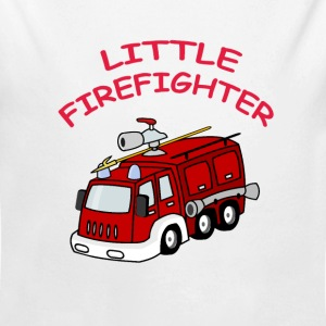 Little Firefighter - Baby Body - Baby Bio-Langarm-Body