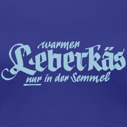 Leberkäs Semmel