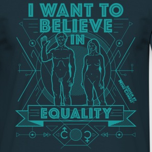 I-want-to-believe - Men's T-Shirt