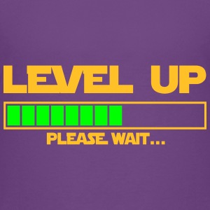level up please wait Tee shirts - T-shirt Premium Ado