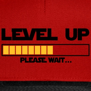 level up please wait Casquettes et bonnets - Casquette snapback