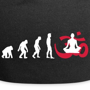 Evolution Yoga Buddhismus Meditation Pullover - Jersey-Beanie
