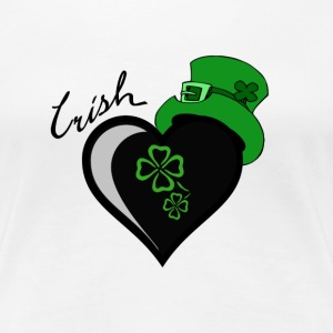 Irish Heart - Frauen Premium T-Shirt