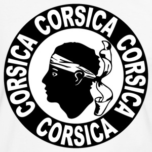 corse corsica 02 Tee shirts - T-shirt contraste Homme