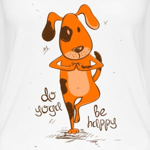yoga dog  Tops - Women's Organic Tank Top