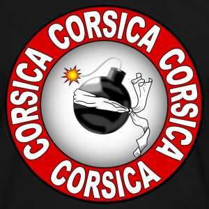 corse corsica 04 Tee shirts - T-shirt contraste Homme