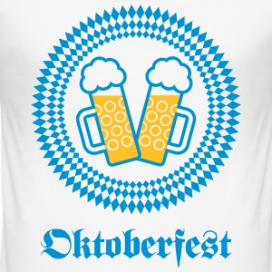Oktoberfest (Wiesn / SVG / 2C) T-Shirts - Men's Slim Fit T-Shirt