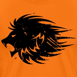 Modernwarriorbody Courage Lion T-shirt - Men's Premium T-Shirt