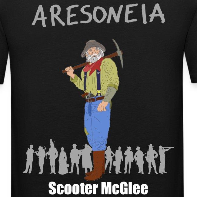 Aresoneia-McGlee (Weiß) - Herren-Slim-Fit-Shirt