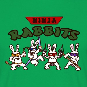 ninja rabbit T-Shirts - Men's T-Shirt