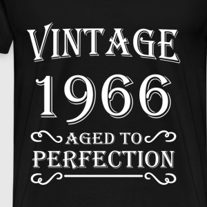 Vintage 1966 - Aged to perfection T-shirts - Mannen Premium T-shirt