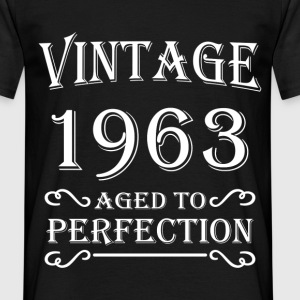 Vintage 1963 - Aged to perfection T-skjorter - T-skjorte for menn