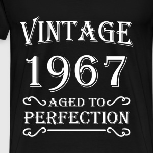 Vintage 1967 - Aged to perfection T-Shirts - Männer Premium T-Shirt