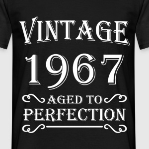 Vintage 1967 - Aged to perfection T-shirts - Mannen T-shirt