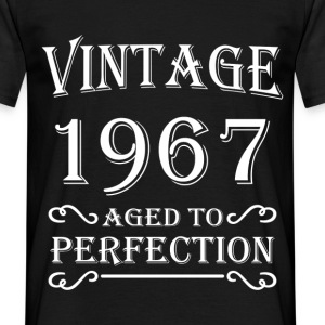 Vintage 1967 - Aged to perfection T-paidat - Miesten t-paita