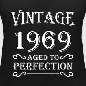 Vintage 1969 - Aged to perfection T-Shirts - Women's V-Neck T-Shirt