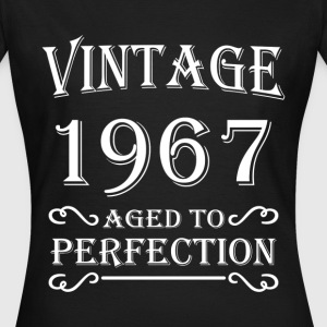 Vintage 1967 - Aged to perfection Camisetas - Camiseta mujer