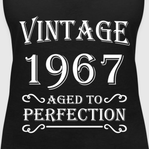 Vintage 1967 - Aged to perfection T-Shirts - Women's V-Neck T-Shirt