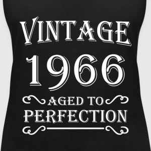 Vintage 1966 - Aged to perfection T-Shirts - Women's V-Neck T-Shirt