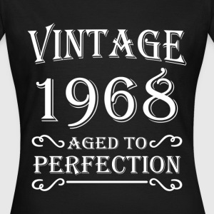 Vintage 1968 - Aged to perfection Camisetas - Camiseta mujer