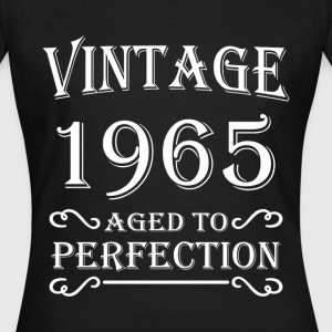 Vintage 1965 - Aged to perfection Camisetas - Camiseta mujer